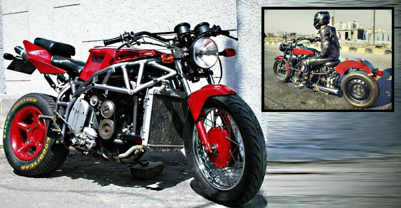 India's experimental motorcycles by clever inventors
