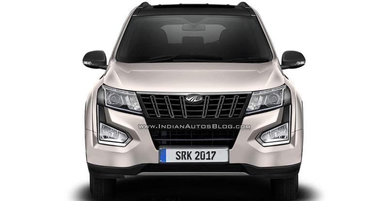 2018 Mahindra XUV500 Facelift: Here's what it'll look like