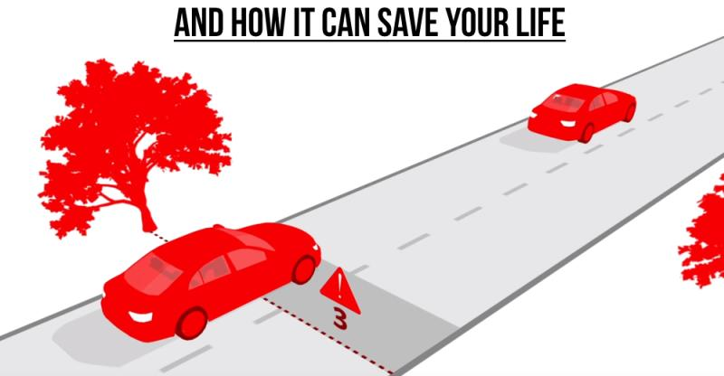 [Video] What's the 3 second rule, and why every car driver/bike rider must follow it