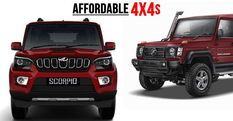 7 affordable 4WD SUVs for those who want to truly EXPLORE