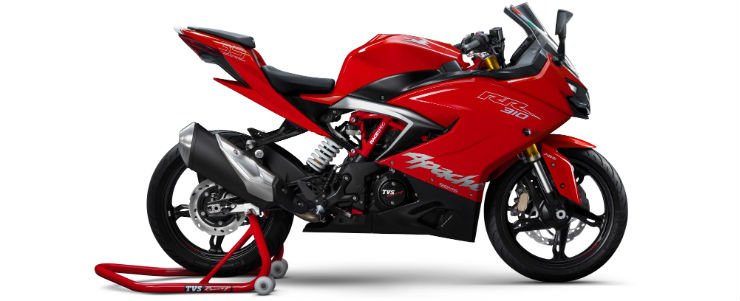 Apache RR 310S to OUTSELL KTM Duke & RC390, according to TVS Motors