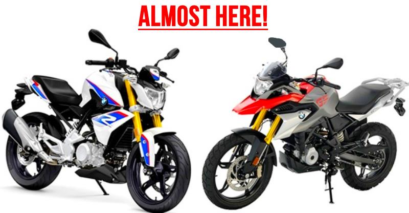 BMW G 310R & GS 310R sportbikes confirmed for 2018 launch in India
