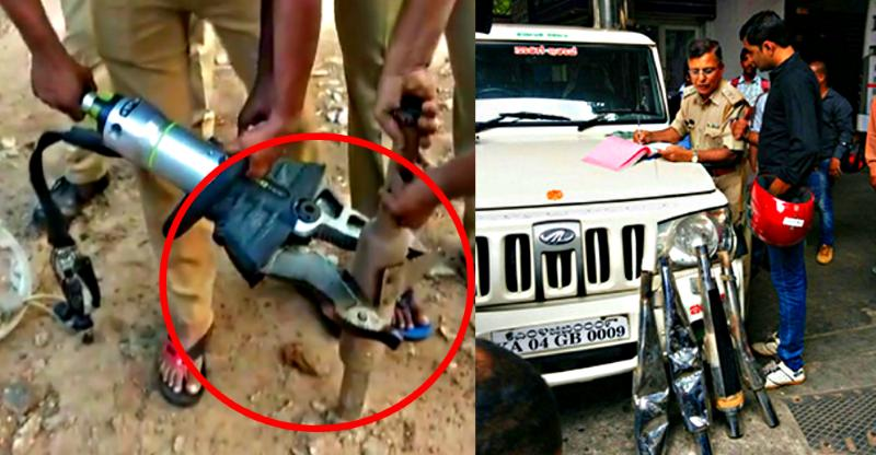 [Video] Bangalore police's new 'silencer destroyer'  is totally savage