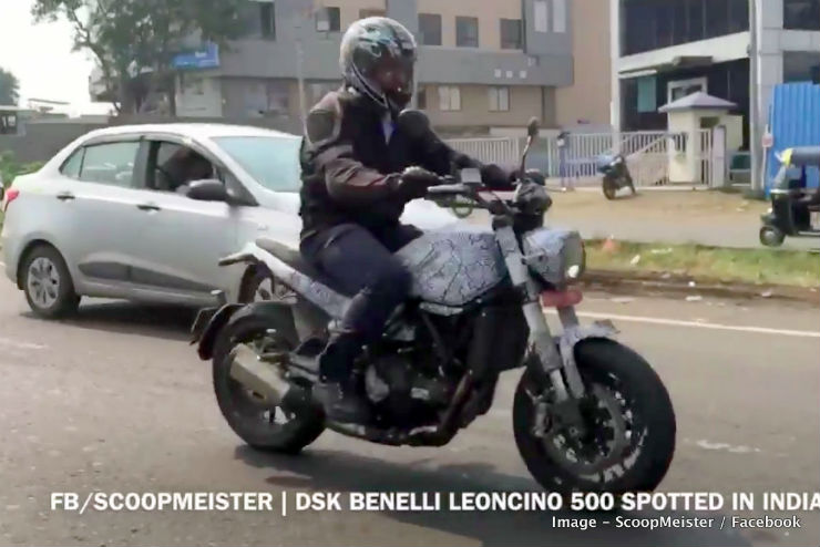 Benelli Leoncino 500cc motorcycle spied in India, launch soon