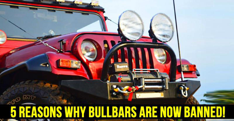 5 reasons why the Indian government has BANNED bull-bars on cars & SUVs