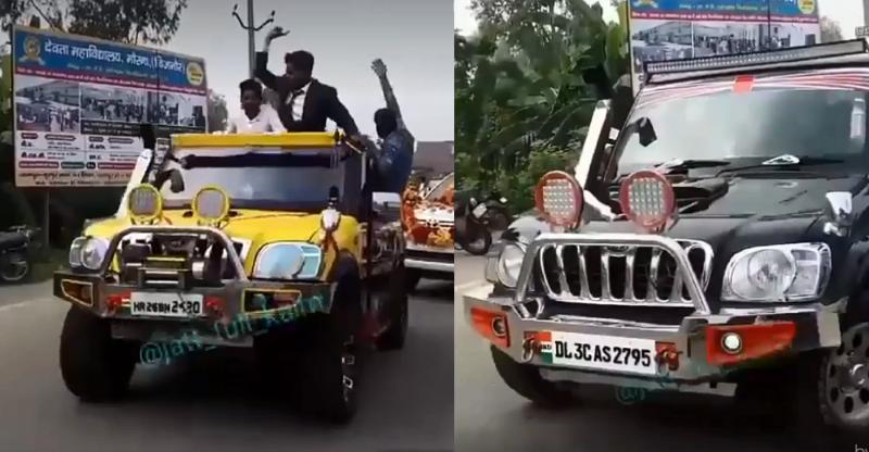 [Video] Meet India's dancing SUVs based on Mahindra Scorpios