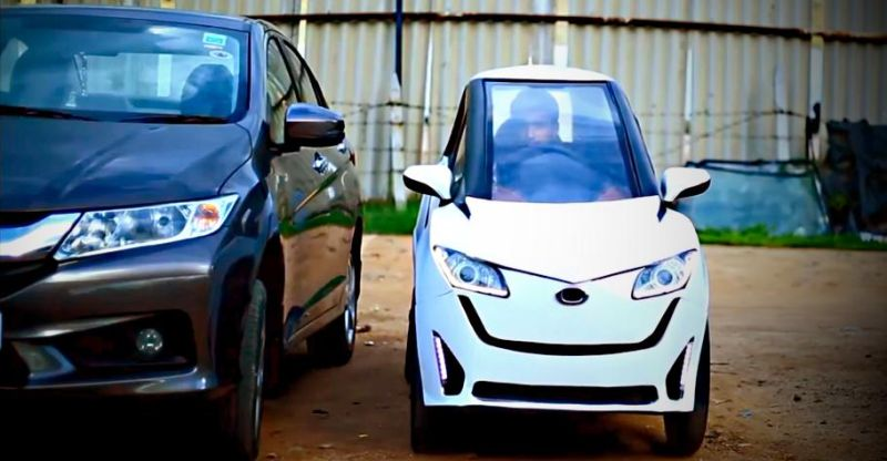 Indian engineering students build an electric Micro Car ...