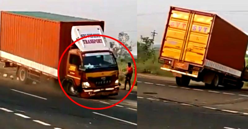 [Video] Driverless Eicher truck goes CRAZY in India; This is why it all happened!