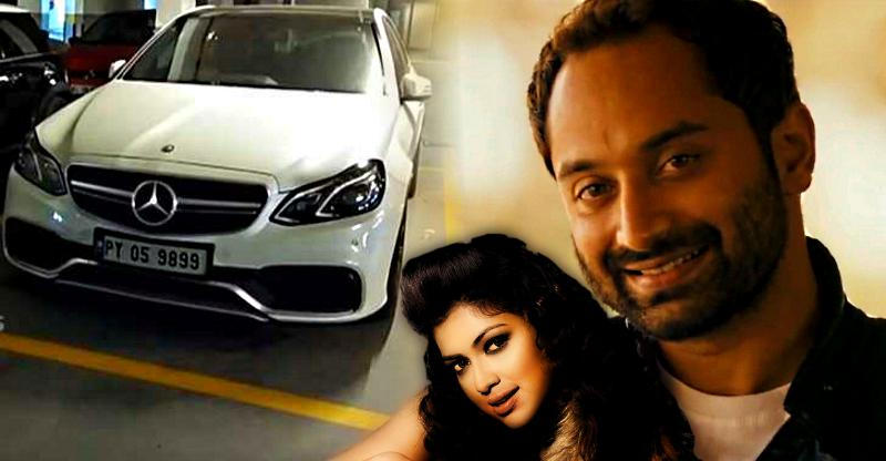 Movie star Fahadh Faasil arrested for evading road tax on Mercedes Benz E63 AMG