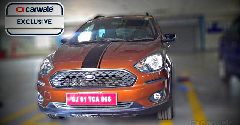 Ford Figo Cross revealed; Launching soon in India