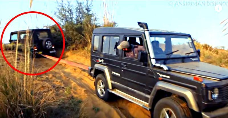 [Video] Force Gurkha shows Mahindra Thar & Maruti Gypsy who's the real off-road BOSS