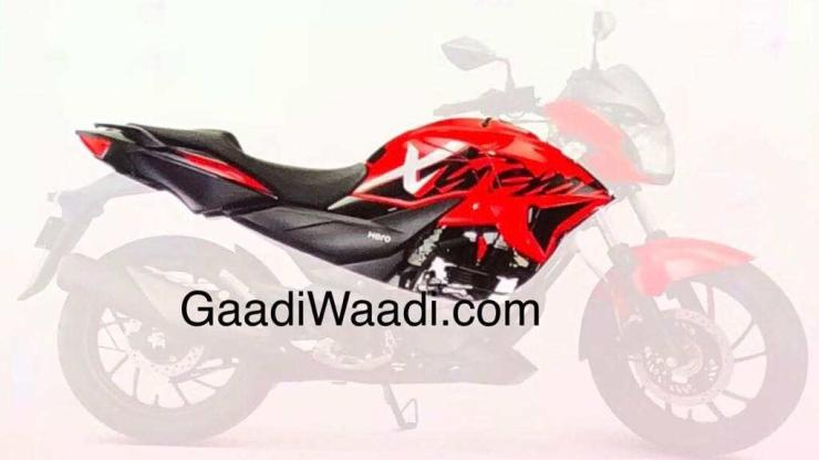 Hero Xtreme 200S: Picture of production-spec motorcycle leaked