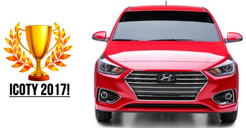 Hyundai Verna is Indian Car Of the Year Winner