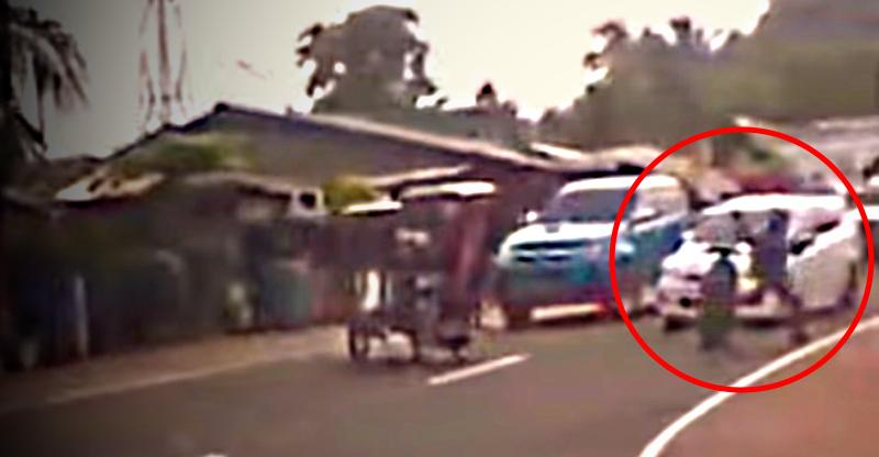 Kung fu biker cheats death with an unbelievable move [VIDEO]