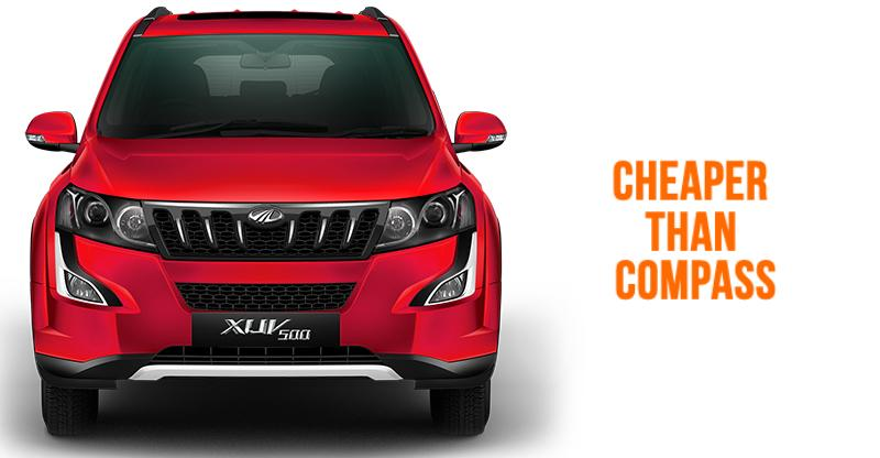 Mahindra XUV500 Petrol Automatic launched in India; Much cheaper than Jeep Compass AT SUV