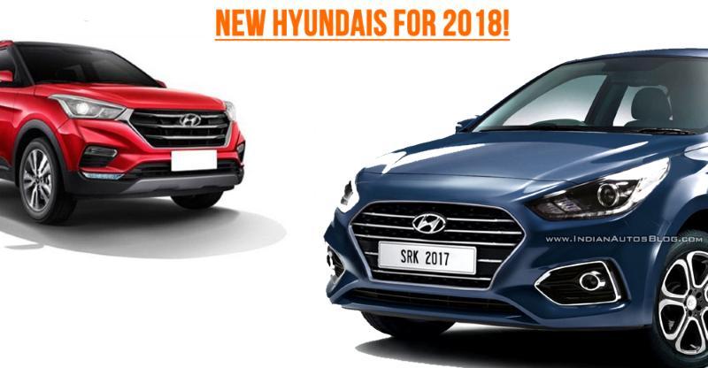 Hyundai's 3 BIG car & SUV launches for 2018