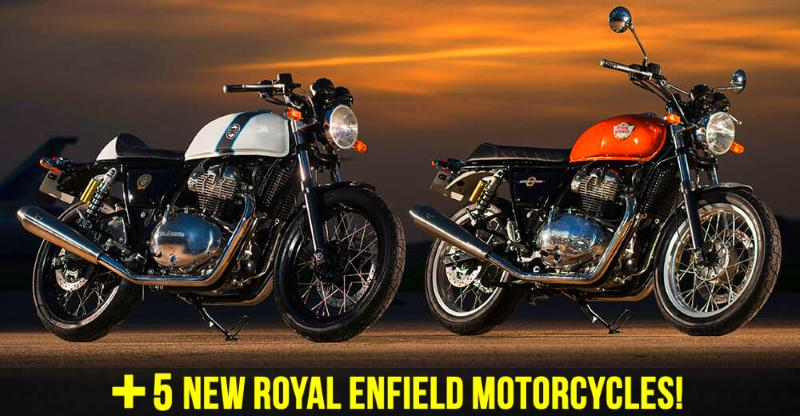 7 new Royal Enfield motorcycles for the Indian market