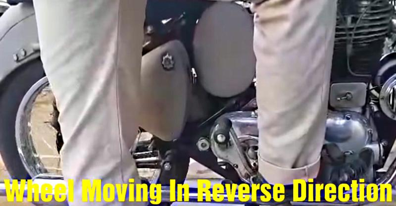 [VIDEO] This is India's first Royal Enfield Bullet with a 'reverse gear'