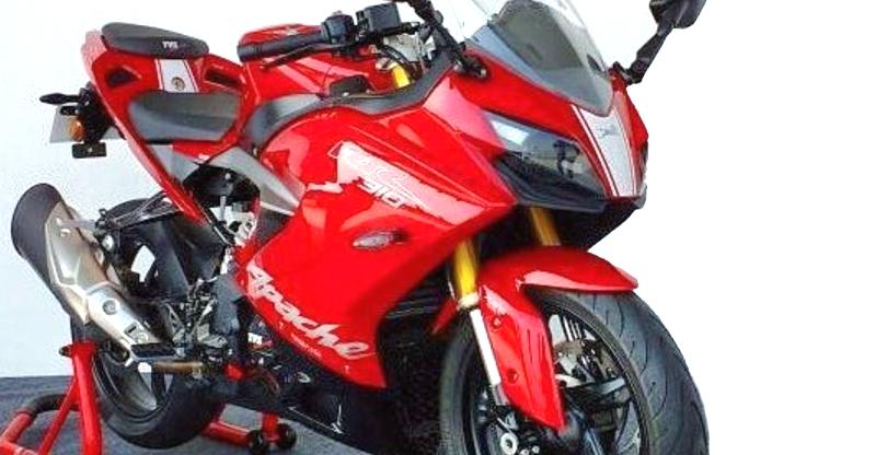 TVS Apache RR 310S sportsbike launched; Much CHEAPER than the KTM RC390