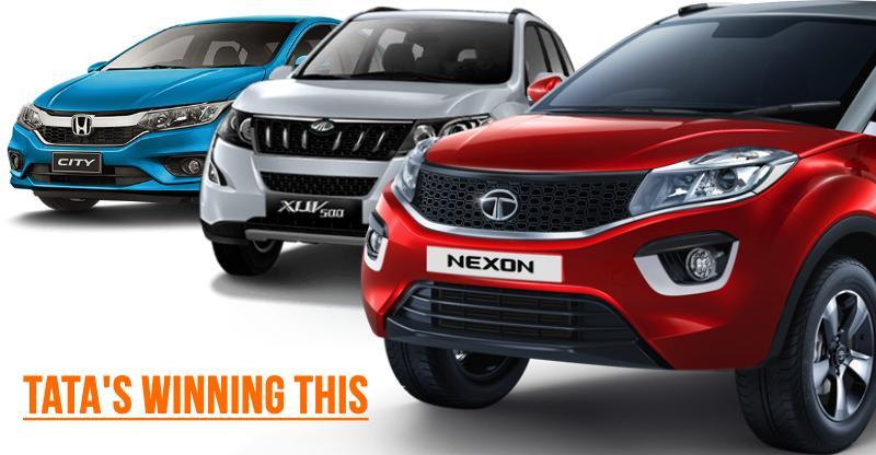 Tata BEATS Mahindra & Honda to become India's 3rd largest car maker