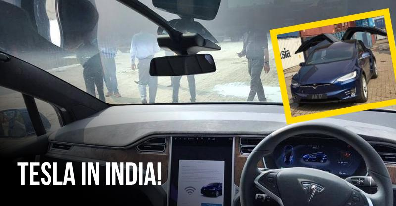 This is India's first Tesla!