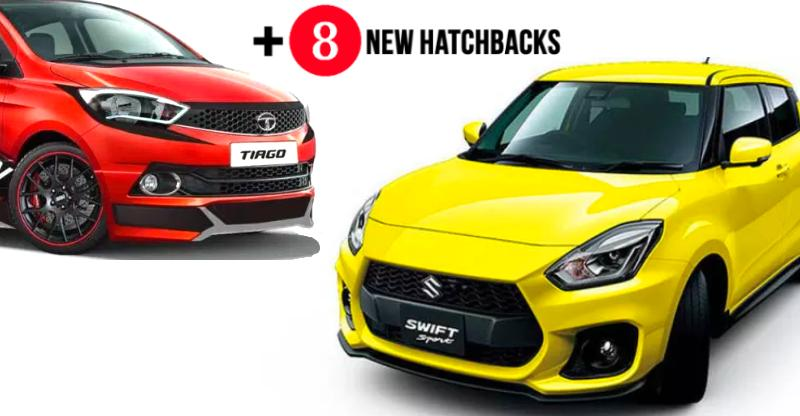 10 NEW hatchbacks coming to India in 2018; All-new Maruti Swift to Hyundai Santro