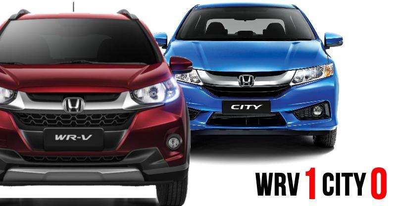 Honda WR-V compact SUV BEATS the City sedan