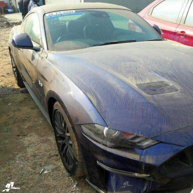 2018 Ford Mustang Facelift Muscle Car Spied In India Launch Soon