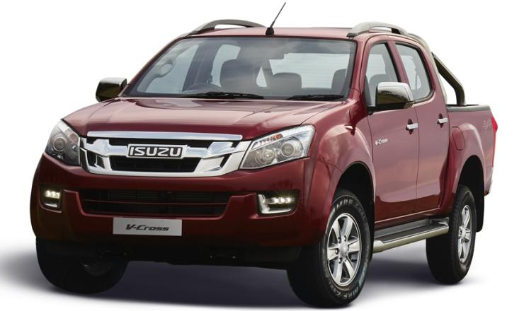 2018 isuzu d max v cross pick up truck launched in india. Black Bedroom Furniture Sets. Home Design Ideas