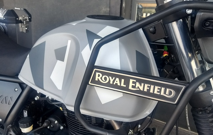 Royal Enfield Himalayan Sleet Explained In Detail Photo Gallery Video