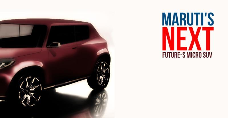 Maruti Suzuki Future S micro SUV in CarToq's exclusive render