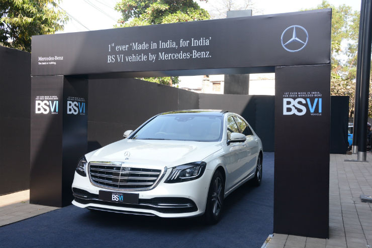 Mercedes-Benz S-Class facelift to be launched on 26th February