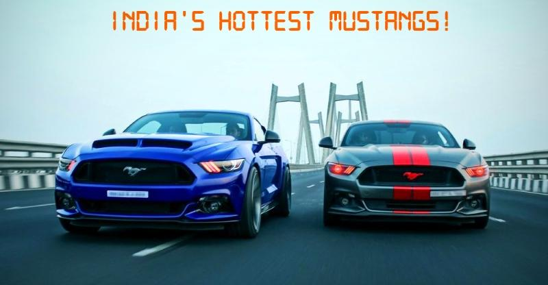 Five AWESOME, modified Ford Mustang muscle-cars from around India
