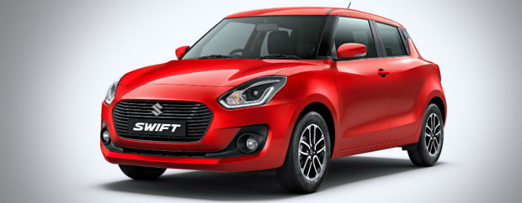 2018 All New Maruti Swift Hatchback Photo Gallery