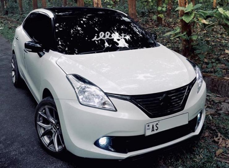 Suzuki Baleno White