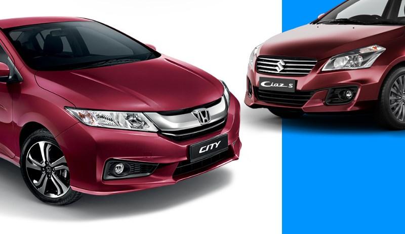 Honda City is back as best seller by beating Maruti Ciaz & Hyundai Verna in India
