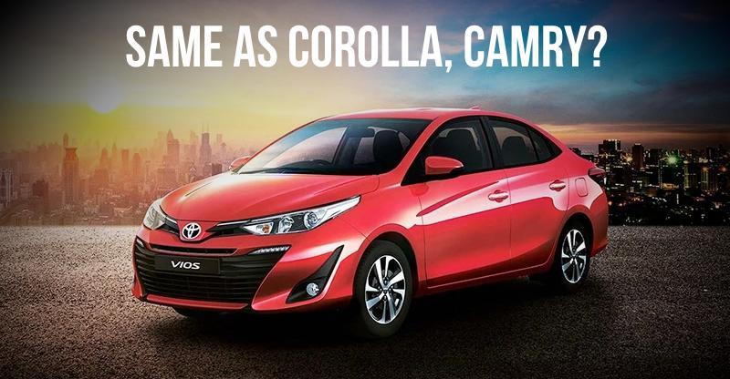 Toyota Yaris 'technically same as Corolla/Camry', says Toyota Vice-Chairman; We explain