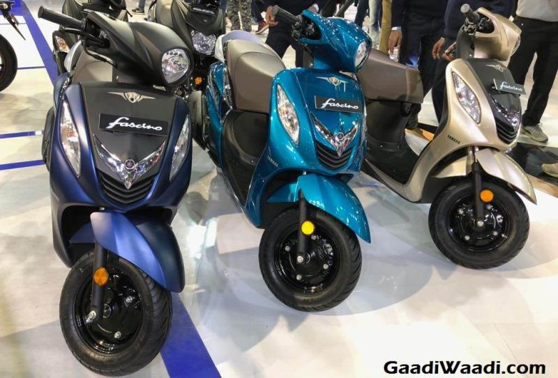 New, 2018 edition of Yamaha Fascino automatic scooter to rival Honda Activa 5G