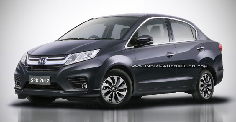 All New Honda Amaze S Global Debut At 2018 Indian Auto Expo Will