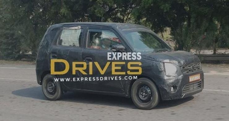 All-new Maruti WagonR hatchback spied testing in India