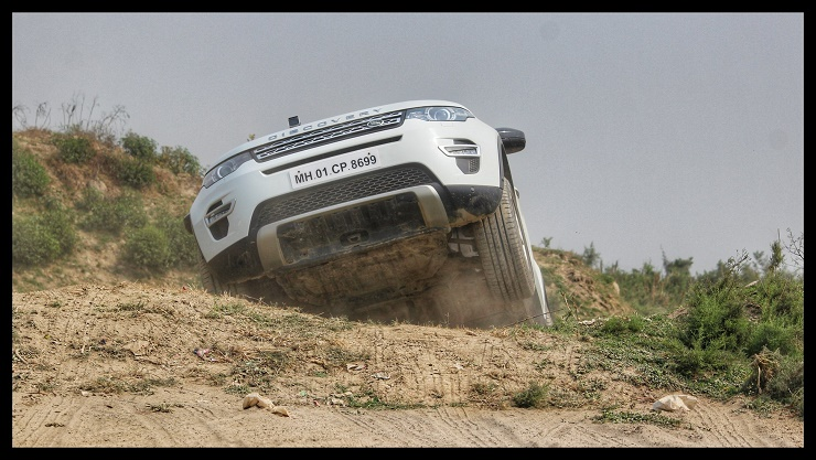Report: We participate in the Land Rover Experience at Noida