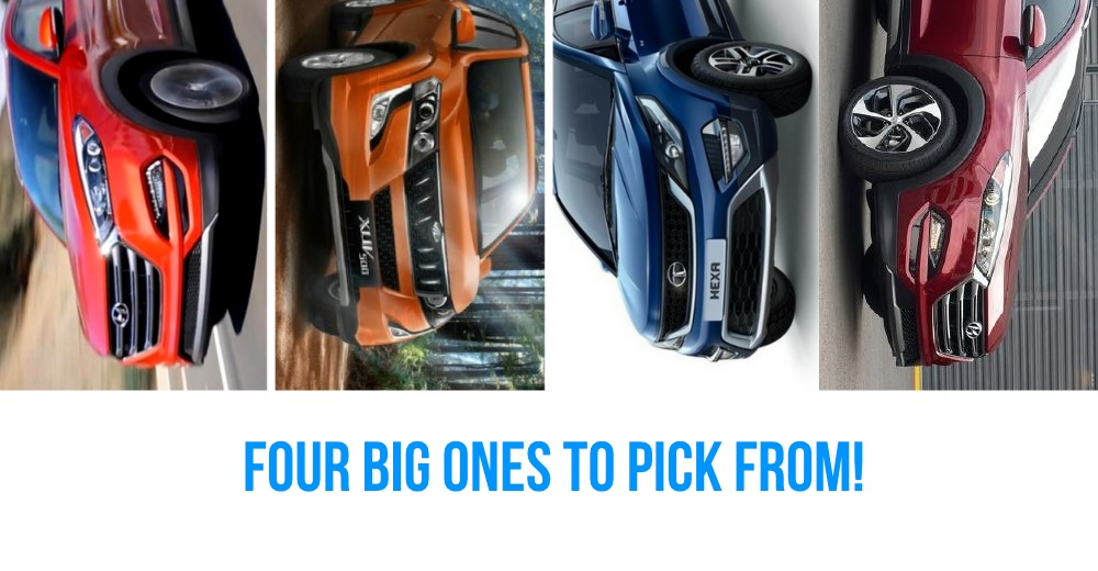 Tata Hexa Vs Mahindra XUV500 Vs Jeep Compass Vs Hyundai Tucson: Who should buy what?