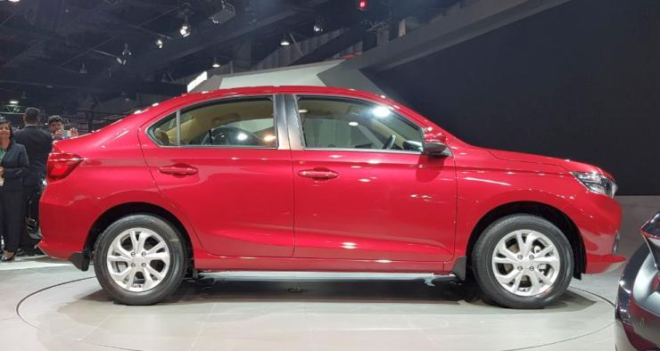 All New 2018 Honda Amaze Unveiled At The Auto Expo To Take On