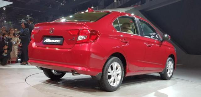 2018 All New Honda Amaze Is India S First Affordable Diesel Cvt