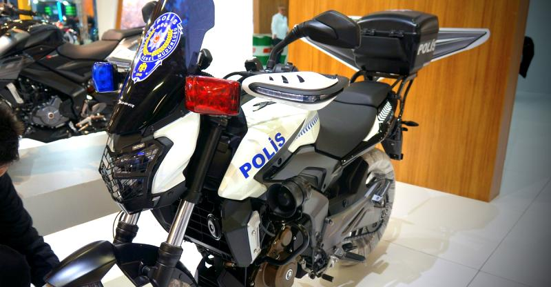 World's first Bajaj Dominar-based police bike: This is IT!