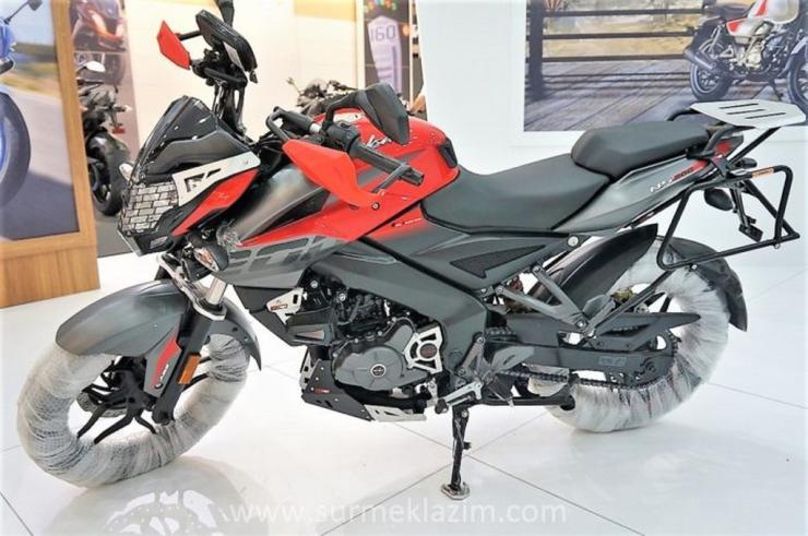 Bajaj Pulsar 200 NS Adventure Edition motorcycle showcased