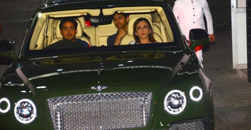 The Ultra Rich Ambani Kids Their Super Luxurious Cars Suvs From