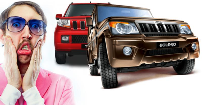Did you know the Mahindra Bolero & TUV300 are legally 'compact cars'? Here's how
