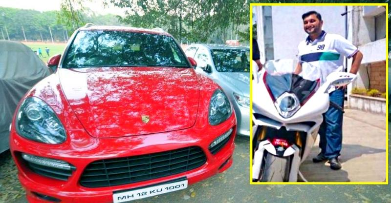 DSK-Benelli Chairman's MV Agusta F4 RR superbike SEIZED by Pune police
