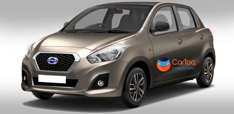 Datsun Go hatchback facelift in CarToq's render